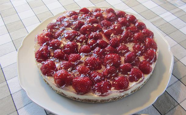 Sommarcheesecake