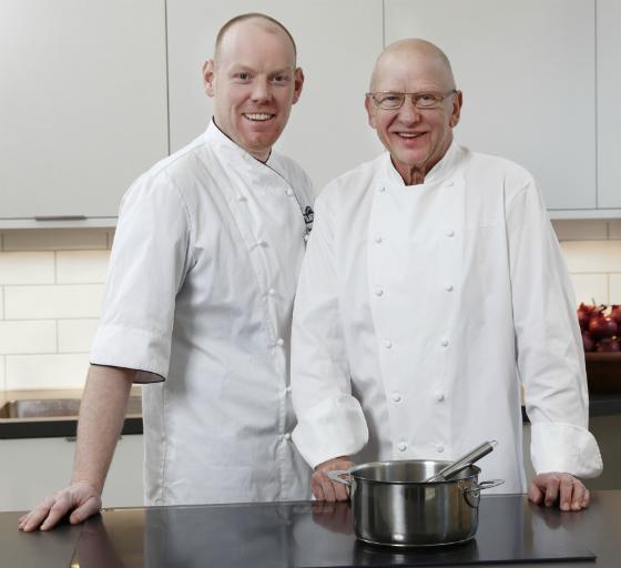 Niclas Wahlström och Gert Klötzke. Foto: Per Erik Berglund