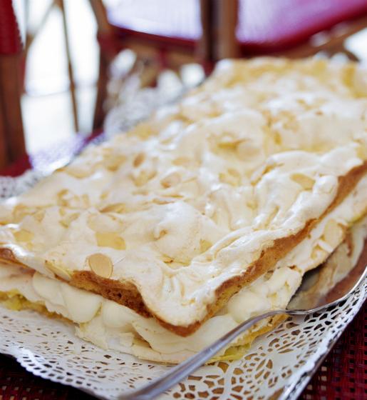 En oemotståndlig tårta om du tycker om citron och maräng. Foto: Matilda Lindeblad