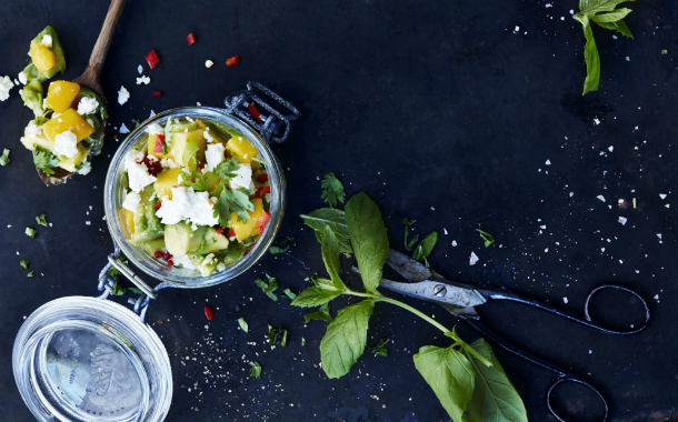 Salsa Fresca, lika vacker som god. Foto: Susanna Blåvarg